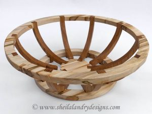 Alternis Scroll Saw Basket Pattern