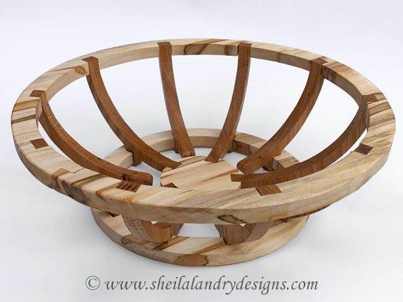 Alternis Scroll Saw Basket Pattern