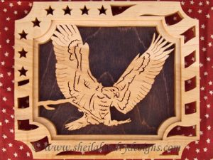 American Eagle Scroll Saw Pattern