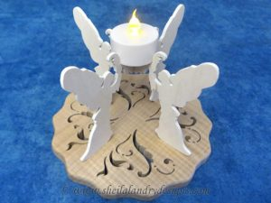 Angel Tealight Scroll Saw Pattern