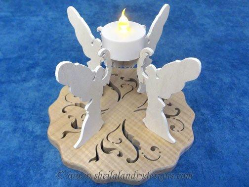 Angel Tealight Scroll Saw Pattern