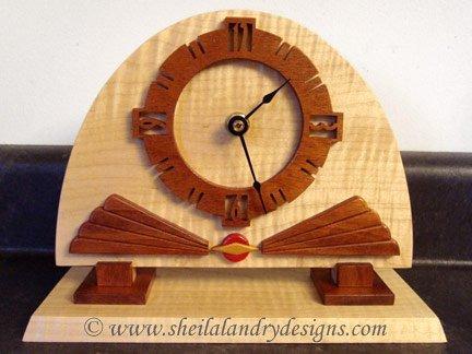 Art Deco Clock Scroll Saw Pattern