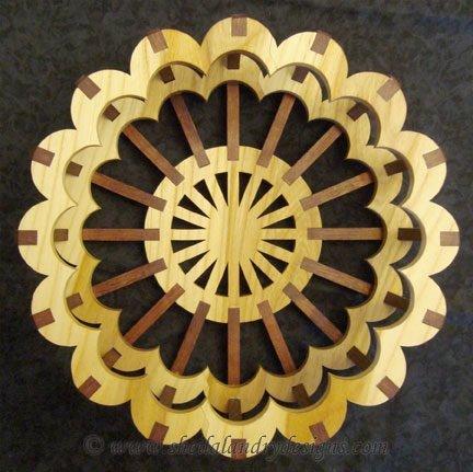 DIY Wood Basket