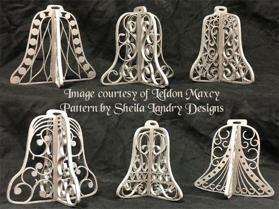 Bell Ornaments Scroll Saw Pattern