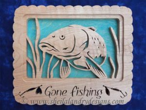 Carp Scroll Saw Fishing Pattern