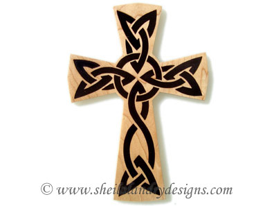 Celtic Cross Scroll Saw Pattern