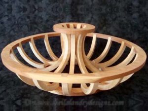 Centerpiece Scroll Saw Basket Pattern