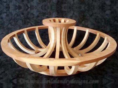 Centerpiece Scroll Saw Basket Pattern