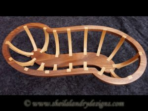 Chenille Scroll Saw Basket Pattern