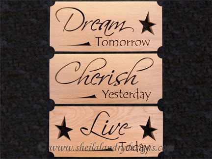 Cherish Dream Live Scroll Saw Patterns