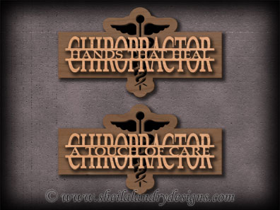 Chiropractor Scroll Saw Pattern