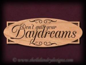 Daydreams Scroll Saw Pattern