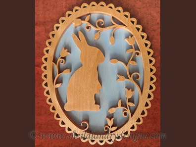 Easter Bunny Scroll Saw Pattern