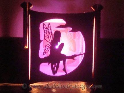 Fairy Nightlight Scroll Saw Pattern