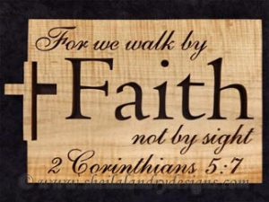 Faith Scroll Saw Bible Passage Pattern