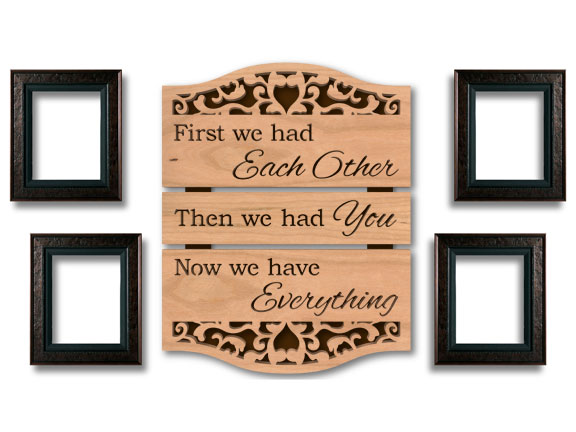 Family Gift Scroll Saw Template