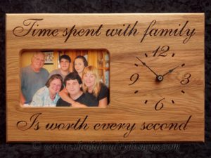 Family Scroll Saw Clock Pattern