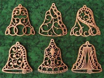 Scroll Saw Bell Ornaments Pattern