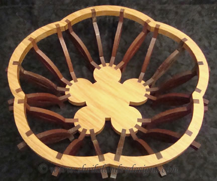 Florian Basket Woodworking Plans