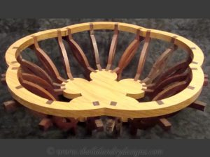 Florian Scroll Saw Basket Pattern