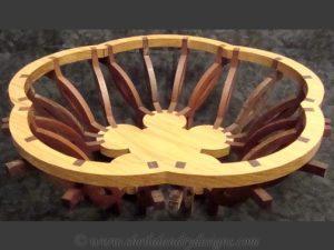 Florian Scroll Saw Basket Pattern