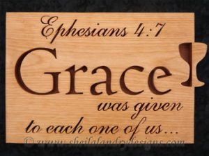 Grace Scroll Saw Bible Passage Pattern