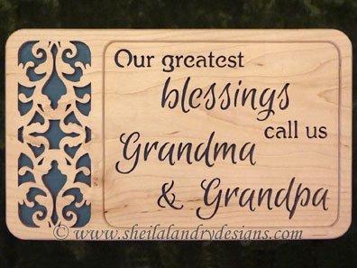 Grandma Grandpa Scroll Saw Pattern