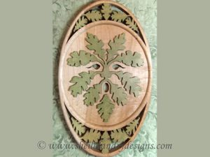 Green Man Scroll Saw Pattern