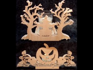 Halloween Witch Scroll Saw Pattern