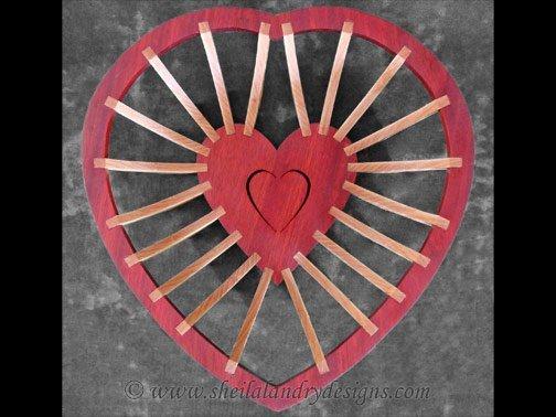 Heart Basket Woodworking Plans