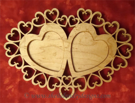 Heart Tealight Scroll Saw Pattern