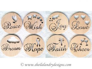Inspirational Scroll Saw Ornaments Pattern
