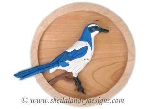 Intarsia Bird Pattern
