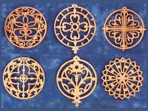 Ironwork Ornaments Scroll Saw Pattern