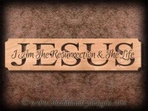 Jesus Resurrection Scroll Saw Pattern