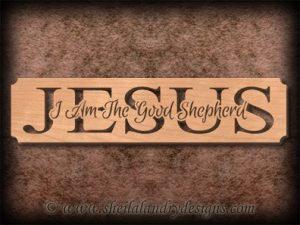 Jesus Shepherd Scroll Saw Pattern
