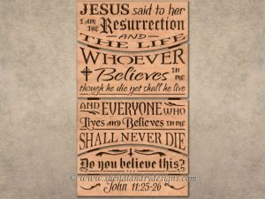 Scroll Saw Bible Verse Pattern