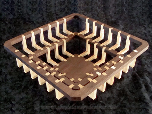 Julius Scroll Saw Basket Pattern