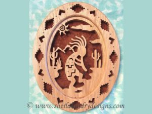 Kokopelli Scroll Saw Pattern
