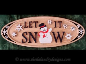 Snowman Scroll Saw Pattern