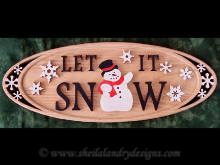 Snowman Scroll Saw Pattern