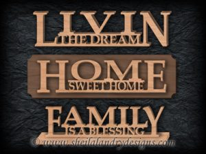 Livin', Home & Family Scroll Saw Patterns