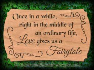 Love Fairytale Scroll Saw pattern