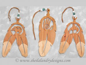 Native American Scroll Saw Pattern
