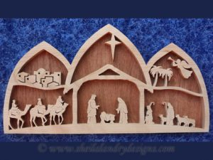 Nativity Scroll Saw Pattern