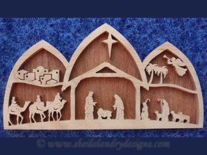 Nativity Scroll Saw Pattern