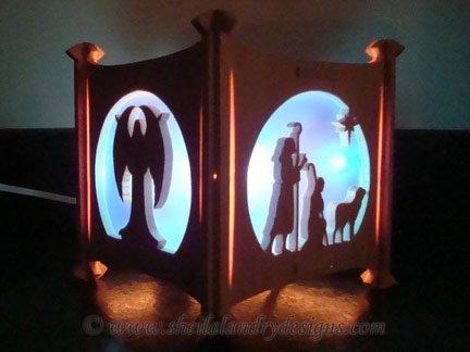 Nativity Laser Pattern
