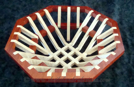 Octagon Jigsaw Basket Template