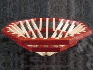 Octavia Scroll Saw Basket Pattern