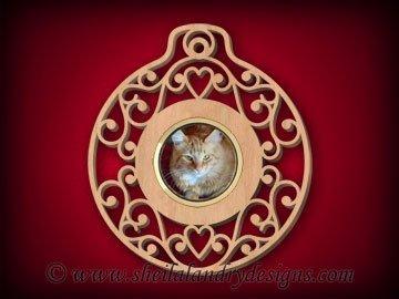 Ornament Frame Insert